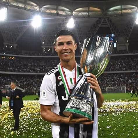 Le premier sacre de Cristiano Ronaldo en Italie.