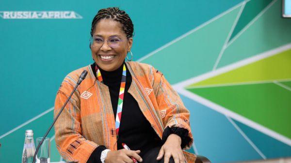 Nathalie Yamb, la conseillère de l'opposant ivoirien Mamadou Koulibaly,