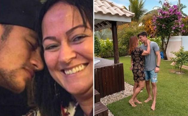 La mère de Neymar sort avec un mannequin de 22 ans après s'être séparée de son mari
