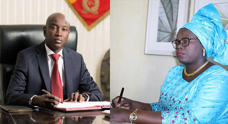 Aly NGOUILLE, assome Aminata: LES hommes de Macky