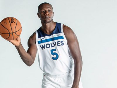 Gorgui Dieng, invité de l'épisode 6 de l'émission «BAL Hang Time».