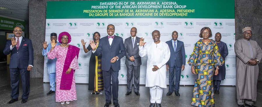 Les dirigeants africains réaffirment leur soutien à la Banque africaine de développement à l'entame du second mandat du président Akinwumi Adesina
