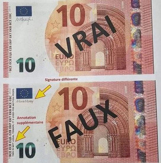 Près 2 millions d'euros, soit 1,5 milliard Fcfa, en faux billets ont été saisis à Yenne